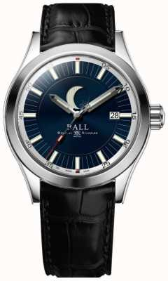 Ball Watch Company Quadrante blu con display della data della fase lunare dell'ing NM2282C-LLJ-BE