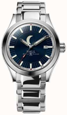 Ball Watch Company Bracciale in acciaio inossidabile con datario a fasi lunari NM2282C-SJ-BE