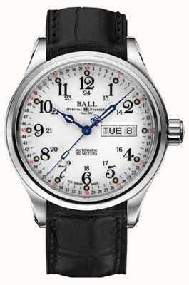 Ball Watch Company Trainmaster 60 secondi di visualizzazione automatica giorno e data NM1058D-LL3FJ-WH