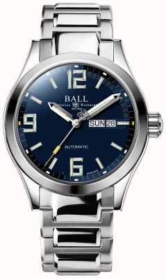 Ball Watch Company Visualizzazione del giorno e della data del quadrante blu automatico dell'ingegner iii NM2028C-S14A-BEGR