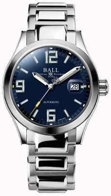 Ball Watch Company Visualizzazione del giorno e della data del quadrante blu automatico dell'ingegner iii NM2126C-S3A-BEGR