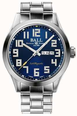 Ball Watch Company Quadrante blu per ingegnere starlight in acciaio inossidabile in edizione limitata NM2182C-S9-BE1