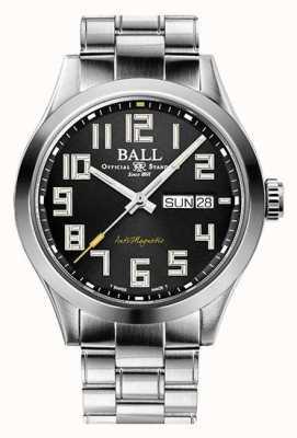 Ball Watch Company Ingegnere iii starlight quadrante nero in acciaio in edizione limitata NM2182C-S9-BK1