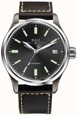 Ball Watch Company Datario Trainmaster titanio automatico quadrante nero NM1038D-L5J-BK