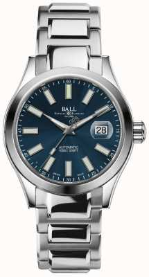 Ball Watch Company Indicatore di data quadrante blu automatico per l'ingegnere ii NM2026C-S6-BE