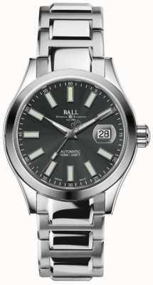Ball Watch Company Indicatore di data quadrante automatico con quadrante grigio automatico NM2026C-S6-GY