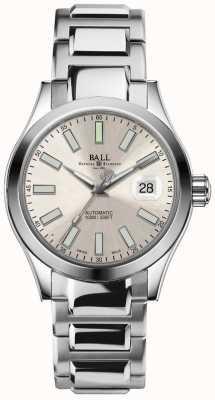 Ball Watch Company Indicatore di data automatica con quadrante champagne per l'orologio NM2026C-S6-SL