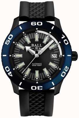 Ball Watch Company Data di consegna automatica con datario blu necc DM3090A-P5J-BK