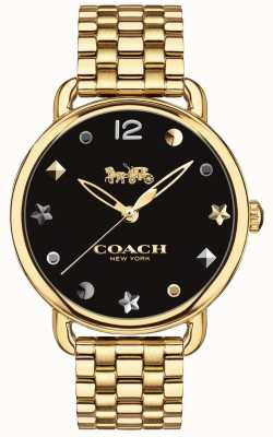 Coach Bracciale da donna con orologio delancey tono oro 14502813