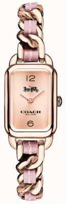 Coach Orologio da donna ludlow in oro rosa e rosa 14502844