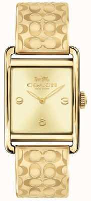 Coach Orologio da donna con cinturino in oro 14502849