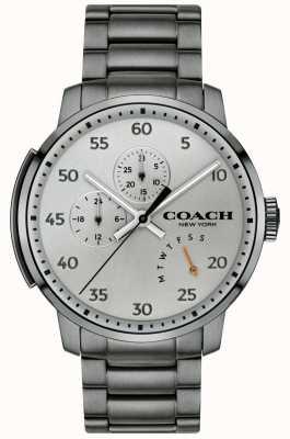 Coach Orologio multifunzione Mens Bleecker grigio 14602360