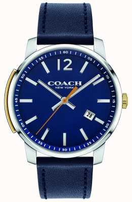 Coach Orologio multifunzione Mens Bleecker blu 14602343