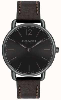 Coach Cinturino in pelle nera con cinturino in pelle nera 14602346