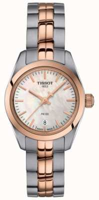 Tissot Orologio da donna con quadrante in madreperla a due toni T1010102211101