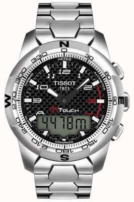 Tissot Cronografo da uomo in titanio t-touch ii T0474204420700