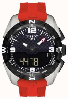 Tissot Cronografo da uomo con allarme t-touch Expert in titanio solare T0914204705700