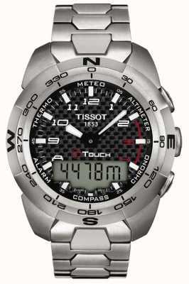 Tissot Cronografo da uomo esperto in titanio t-touch T0134204420200