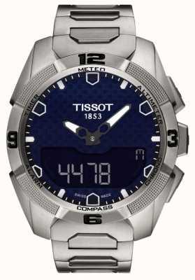 Tissot Crono per allarme solare esperto in titanio t-touch maschile T0914204404100