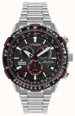 Citizen Freno rosso da uomo con frecce rosse edizione speciale CB5008-82E
