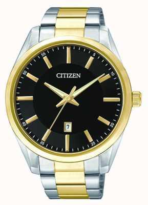 Citizen Quadrante nero con quadrante bicolore per uomo BI1034-52E