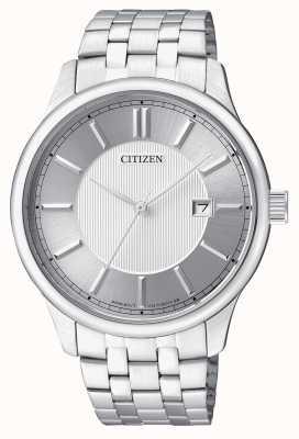 Citizen Orologio da uomo con quadrante in acciaio inossidabile al quarzo BI1050-56A