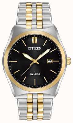 Citizen Eco-drive corso quadrante nero bicolore wr100 BM7334-58E