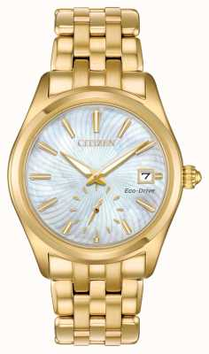 Citizen Quadrante in madreperla da donna eco-drive EV1032-51D