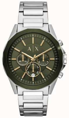 Armani Exchange Cronografo Drexler da uomo in acciaio inossidabile AX2616
