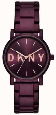 DKNY Bracciale placcato in placcato color porpora di Soho womens NY2766