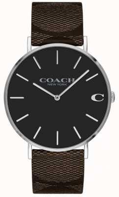 Coach Womens fidanzato quadrante rosa brillante 1402156