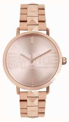 Jean Paul Gaultier Orologio da donna con cinturino in oro rosa 8505701