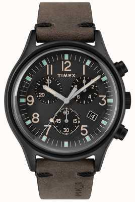 Timex Mens mk1 sst chrono 42mm cassa nera quadrante nero TW2R96500