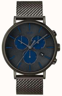 Timex Cinturino in maglia grigio cronografo Fairfield supernova TW2R98000D7PF