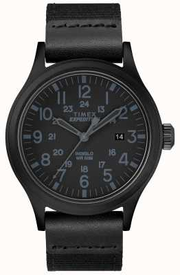Timex Expedition scout watch cinturino in tessuto nero TW4B14200D7PF