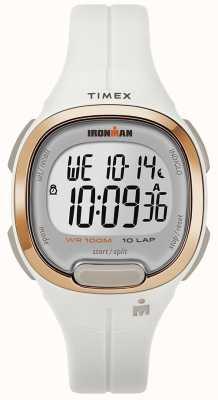 Timex Orologio da uomo in oro bianco e rosa essenziale TW5M19900SU