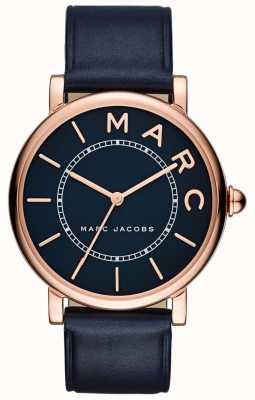 Marc Jacobs Orologio da donna classico con cinturino in pelle blu MJ1534