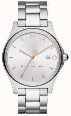 Marc Jacobs Orologio da donna henry tono argento MJ3583