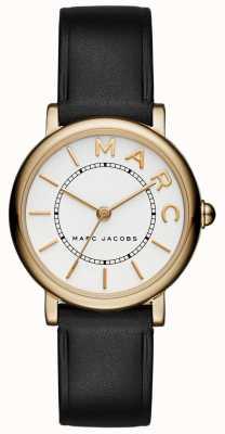 Orologio classico da donna Marc Jacobs in pelle nera MJ1537