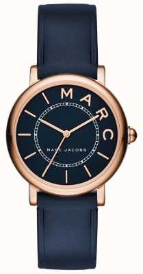 Marc Jacobs Orologio da donna classico marc jacobs in pelle blu scuro MJ1539