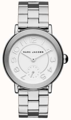 Marc Jacobs Orologio da donna riley tono argento MJ3469