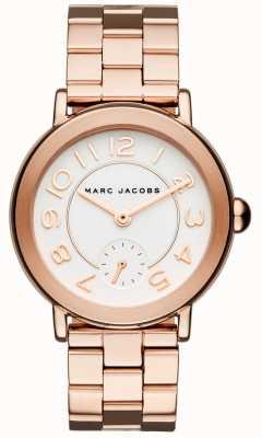 Marc Jacobs Orologio da donna riley tono oro rosa MJ3471