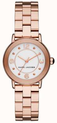 Marc Jacobs Orologio riley da donna tono oro rosa (senza scatola) MJ3474