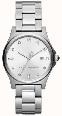 Marc Jacobs Orologio da donna henry tono argento MJ3599