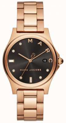 Marc Jacobs Orologio da donna henry in oro rosa MJ3600