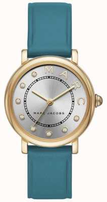 Womens Marc Jacobs classico orologio teal leatherr MJ1633