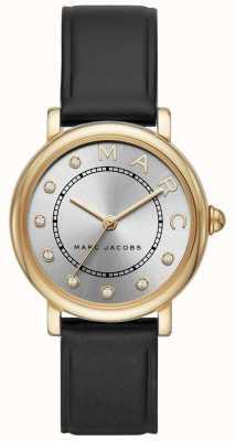 Orologio classico da donna Marc Jacobs in pelle nera MJ1641