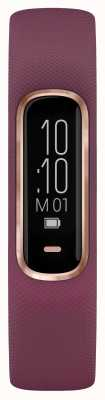 Garmin Custodia Vivosmart 4 hr ox tracker piccola / media porpora in oro rosa 010-01995-01