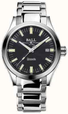 Ball Watch Company Orologio Engineer m marvelight con quadrante grigio in acciaio inossidabile da 40 mm NM2032C-S1C-GY