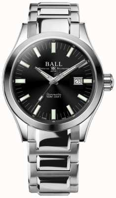 Ball Watch Company Ingegnere m marvelight 43mm quadrante nero NM2128C-S1C-BK